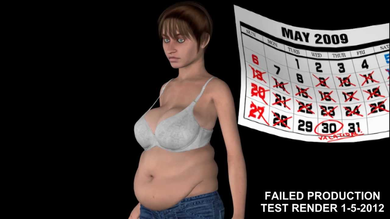 Weight Gain Animation Youtube