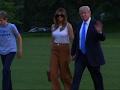 Raw: Melania and Barron Trump Move to White House