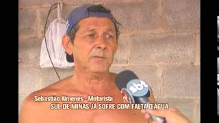 Seca prolongada deixa moradores sem �gua em Campanha no Sul de Minas