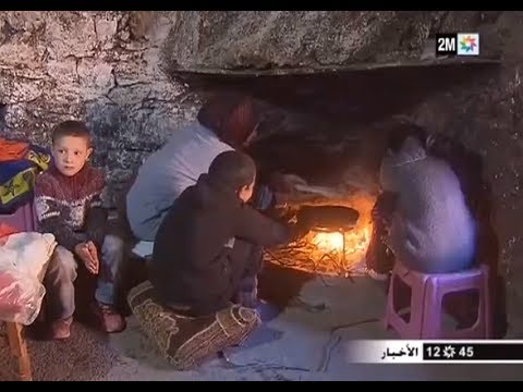 معاناة ساكنة جبال أزيلال تشتد مع موجة البرد