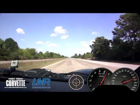 Corvette C6 with Magna Charger - ChaseCam view