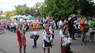 Zespół tańca ludowego Tseruli (Tbilisi, Gruzja) wystąpił w Węgorzewie 15 i 16 lipca, był gwiazdą