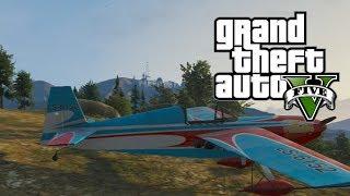 """GTA 5 Online: How To Get A Stunt Plane! """"Mallard"""" Stunt"""