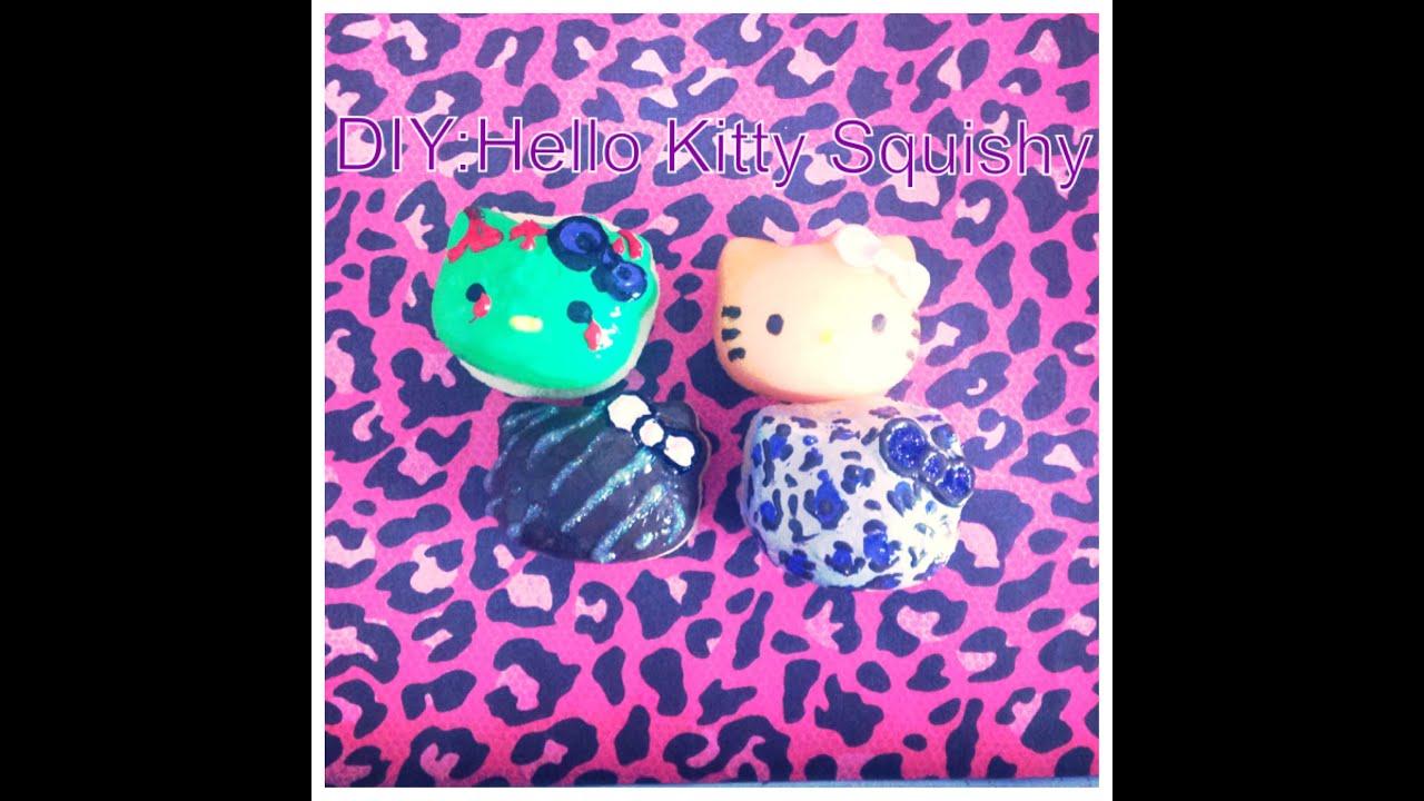 Diy Squishy Hello Kitty : DIY: Squishy Hello Kitty Heads - YouTube