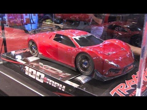 100mph RC Car - Traxxas XO-1 - SEMA 2012