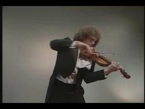 Paganini - Caprice no.20, Alexander Markov, violin [HD]