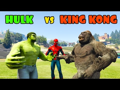 King Kong Vs Hulk Movie King Kong Vs Hulk Asli...