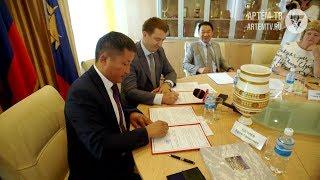 Между Артёмом и Намским районом Якутии подписан договор о сотрудничестве