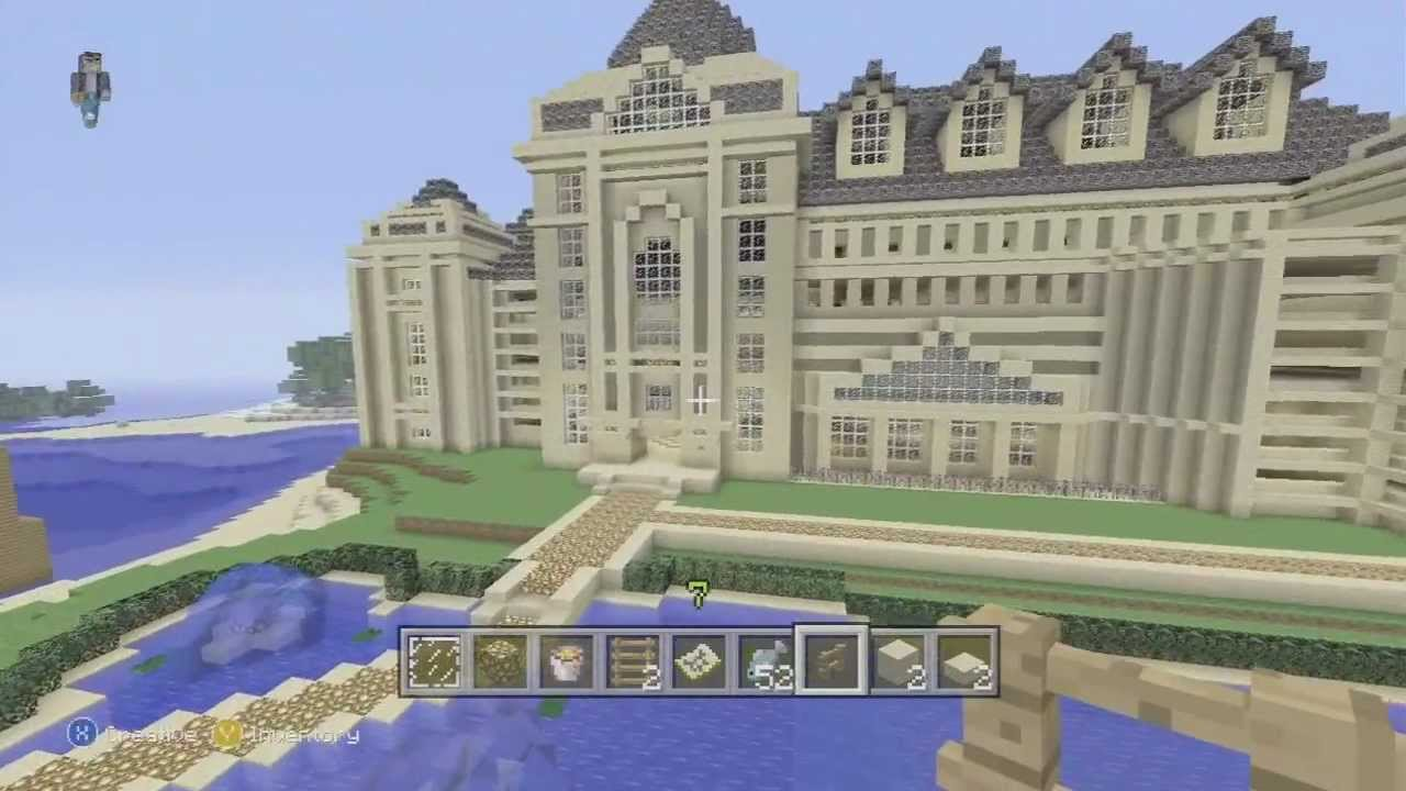 how to build a big house in minecraft pc