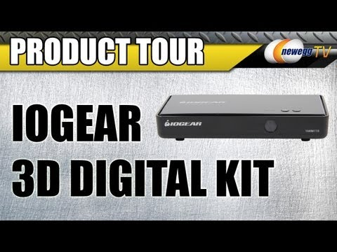 iogear gw3dhdkit wireless 3d digital kit with full hd 1080p and 5.1