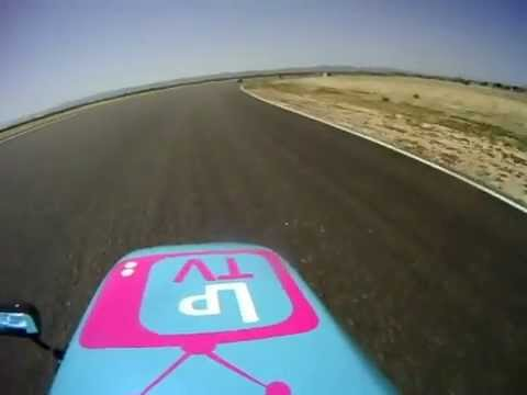 F1 sidecar Willow Springs SRA West/ahrma 4-28-29 helmet cam race 2