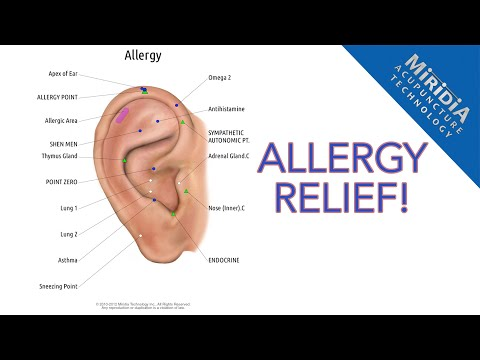 Allergy Relief with Auriculotherapy
