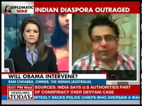 Indians in Australia look at Devyani incident as racism: Ram Chhabra
