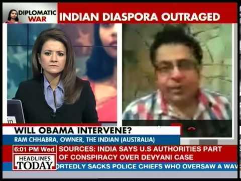 Indians in Australia look at Devyani incident as racism: Ram Chhabra