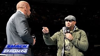 Batista Comes Face-to-face With Triple H: SmackDown, March