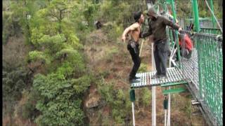 525 Feet Thrilling Bungee Jumping In Nepal, The 3rd