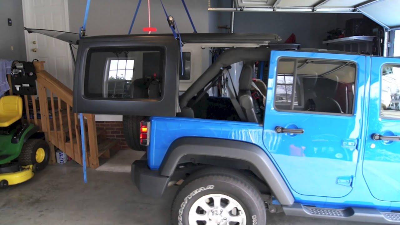 Jeep Hardtop Garage Lift 2017 2018 Best Cars Reviews