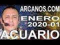 Video Horóscopo Semanal ACUARIO  del 29 Diciembre 2019 al 4 Enero 2020 (Semana 2019-53) (Lectura del Tarot)