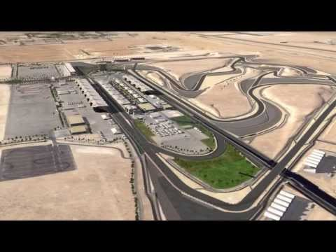 2013 F1 Bahrain Grand Prix track