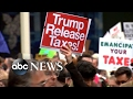 Trump leaves Mar-a-Lago, returns to Washington DC
