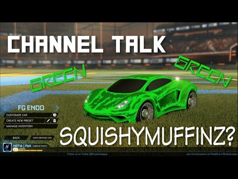 Squishy Rocket League Controls : WE PLAYED SQUISHY??? Rocket League Gameplay and Channel Announcements