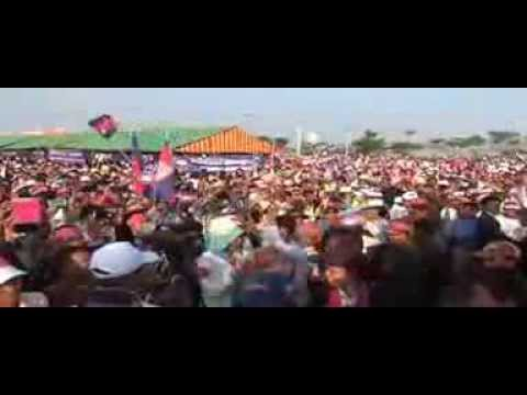 Khmernewstime - Sam Rainsy Speeches in Siem Reap on HR Day - Part1/4