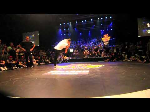 Red Bull BC One 2012 - Holland Cypher - Final - Xisco vs Kido