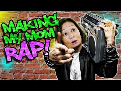 Making my Mom Rap like Eminem!