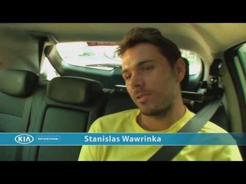 Stanislas Wawrinka: Kia Open Drive - 2014 Australian Open