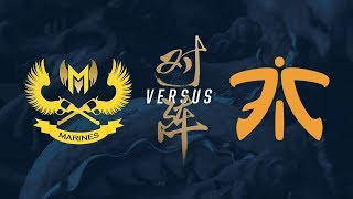 GAM vs. FNC | Group Stage Day 5 | 2017 World Championship | Gigabyte Marines vs Fnatic