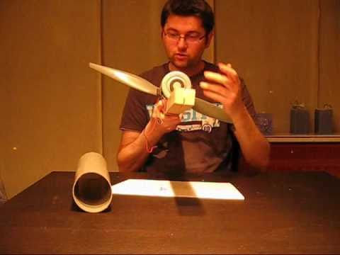 How i made my mini wind turbine HAWT