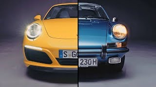 Porsche Evolution – Porsche 911 (2017) vs. Porsche 911 (1970). YouCar Car Reviews.