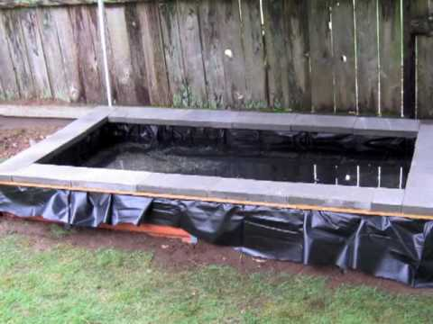 Diy Pond Waterfall Filter Build Step By Step For Less