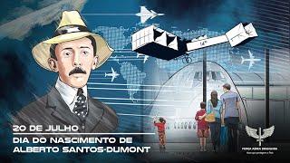O Pai da Aviação e Patrono da Aeronáutica Brasileira, Alberto Santos-Dumont, dedicou sua vida à aviação. Nascido em 20 de julho de 1873, foi o primeiro aeronauta a alcançar, definitivamente, a dirigibilidade dos balões e a voar num aparelho mais pesado que o ar com propulsão própria.  Para celebrar a data, a Força Aérea Brasileira produziu um vídeo especial sobre Santos-Dumont.