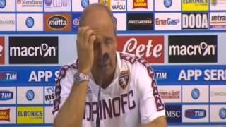 Torino, Ventura: 'Con il Napoli bene per 25-30 minuti'