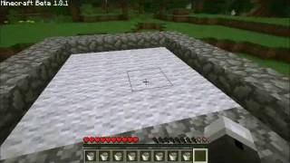 [How To] Make A Minecraft Pool That Turns On And Off With