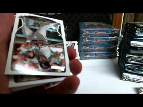 2013 Bowman Draft Picks and Prospects Hobby Case #1