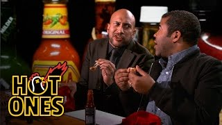 Key & Peele Lose Their Minds Eating Spicy Wings | Hot Ones