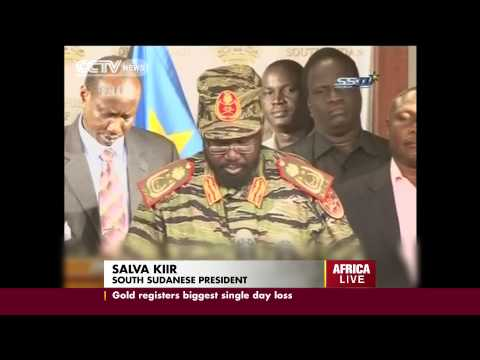 South Sudan's President imposes a curfew in the capital Juba following military clashes