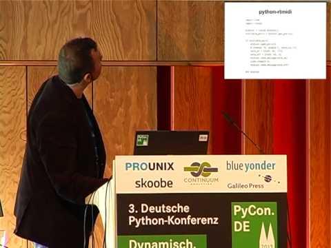Image from MIDI-Geräte drahtlos steuern mit OSC, Raspberry Pi und python-rtmidi