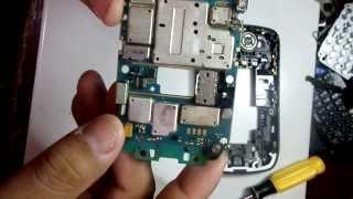Desarme y mantenimiento de Blackberry