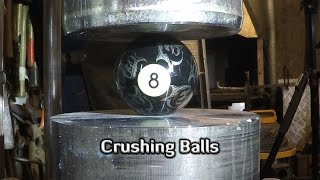 Hydraulic Press   9 Different Balls