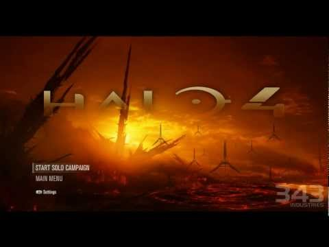 Halo 4: Main Menu Remastered - Forerunner