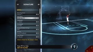 NBA 2K12 My Player Mode How To Create NBA Players
