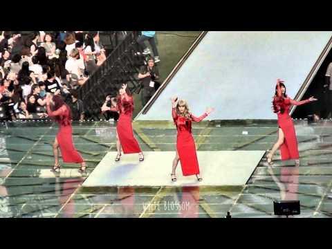 140815 SMTOWN Concert - Something (Changmin, Kyuhyun, Minho, Suho)