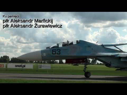 Air Crash Su-27 at Poland Air Show 2009 Radom [HD 1080]