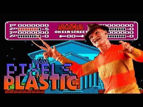 From Pixels to Plastic: Nightmare on Elm Street 8-Bit Freddy Krueger by NECA Toys