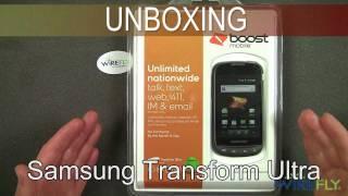 Samsung Transform Ultra Unboxing