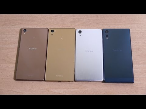 Sony Xperia XZ vs X Performance vs Xperia Z5 vs Xperia Z3 - Which is Fastest?