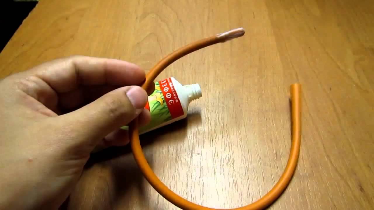 Газоотводная трубочка своими руками